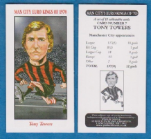 Manchester City Tony Towers